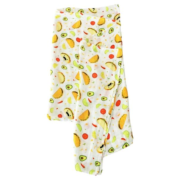 Image of LOU LOU LOLLIPOP TACO BAMBOO SWADDLE