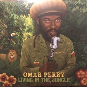 Image of Omar Perry - Living In The Jungle (new UK LP // double vinyl/vocal & version)