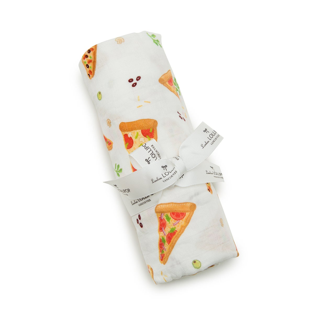 Image of LOU LOU LOLLIPOP BAMBOO PIZZA SWADDLE
