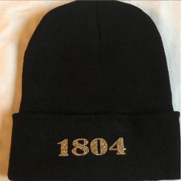 Image of BLACK 1804 BEANIE