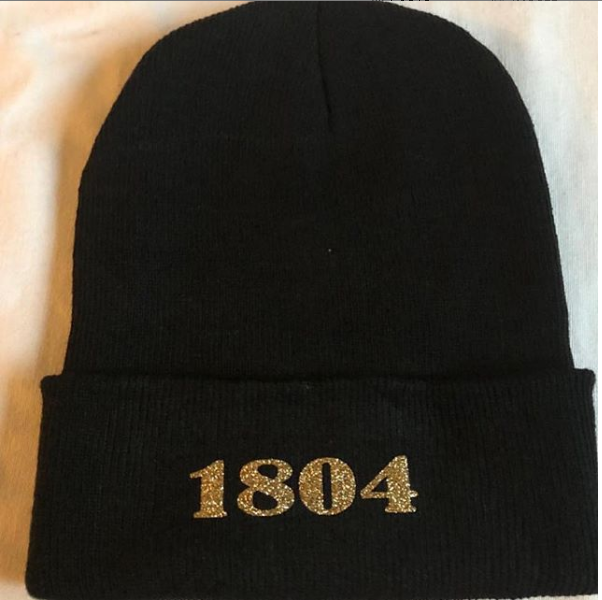 Image of BLACK 1804 BEANIE
