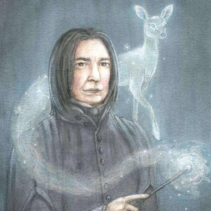 Image of Snape 5x7 print