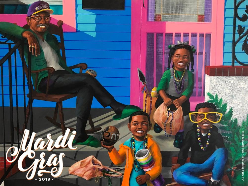 Image of Mardi Gras 2019 Poster