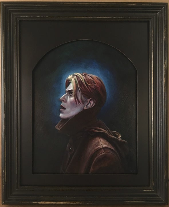 Image of Starman - Framed Painting - David Bowie