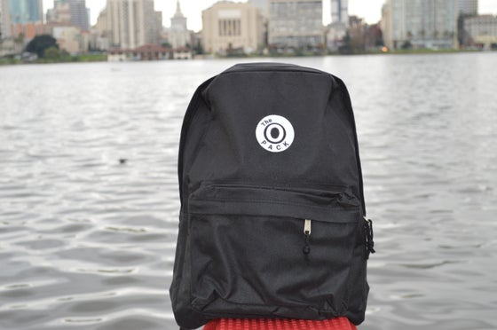 Image of The O Pack Black And White Back Pack