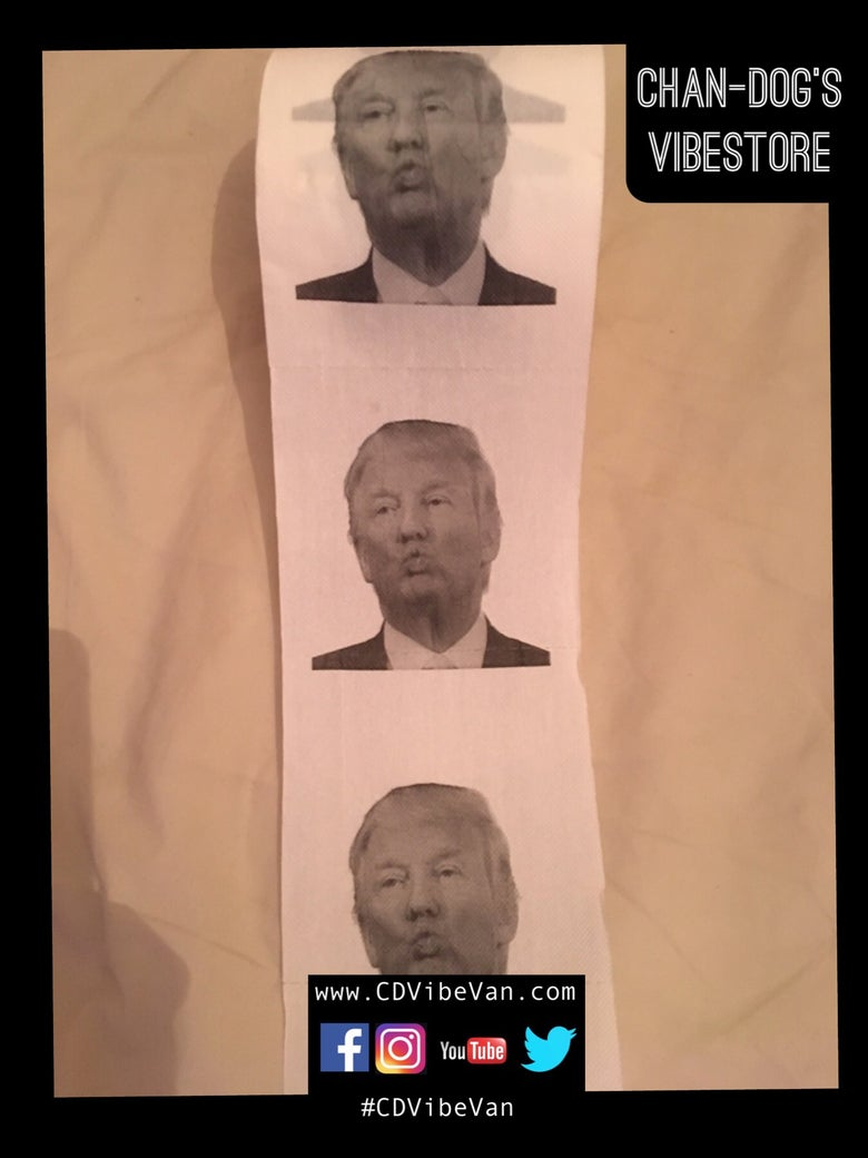 Image of Donald Trump Bog Roll- Pouty/Kissy