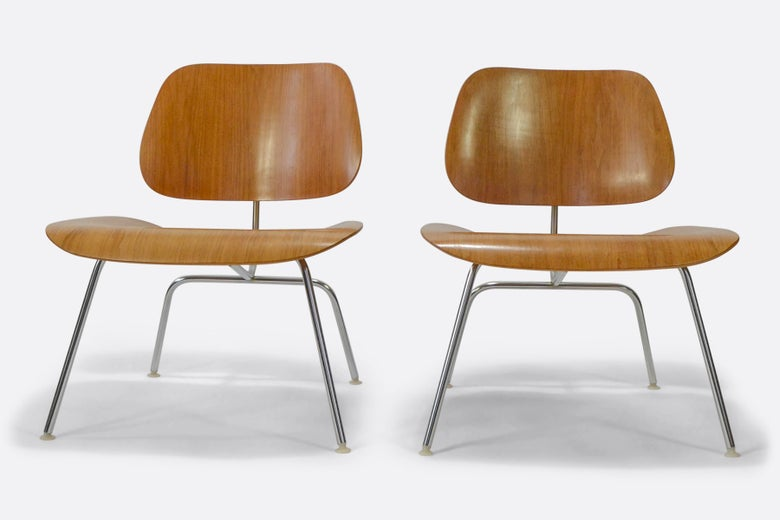 Image of Vintage Herman Miller Eames LCM Chair