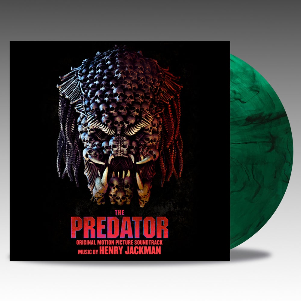Image of The Predator - 'Hunter Green W/ Black Smoke' Vinyl - Henry Jackman