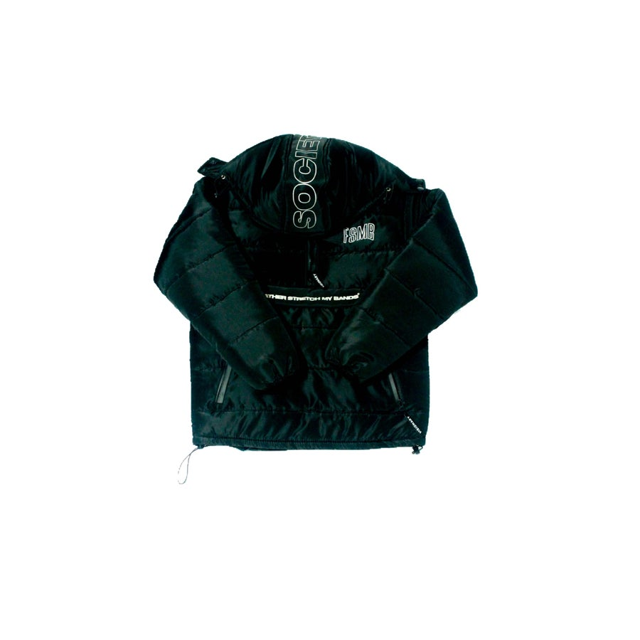 Image of FSMB® Pullover Puffer (Black)