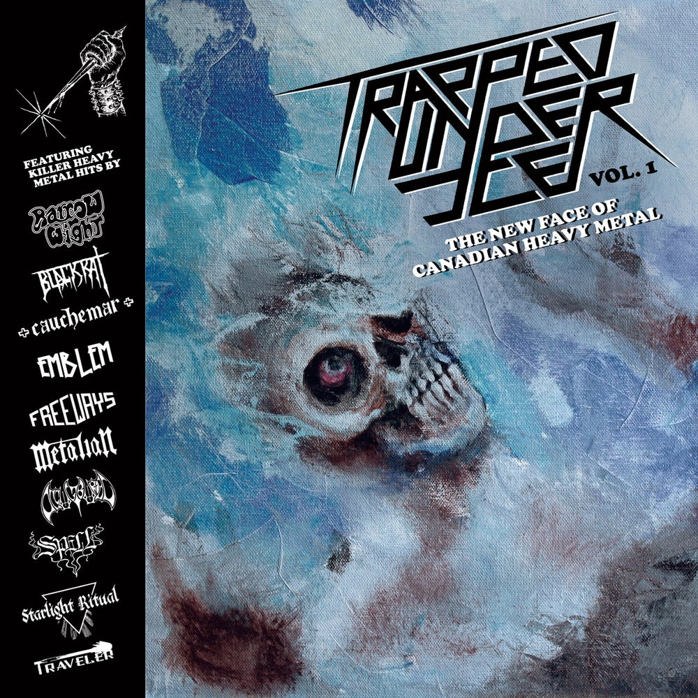 Image of Trapped Under Ice Compilation LP (black vinyl)