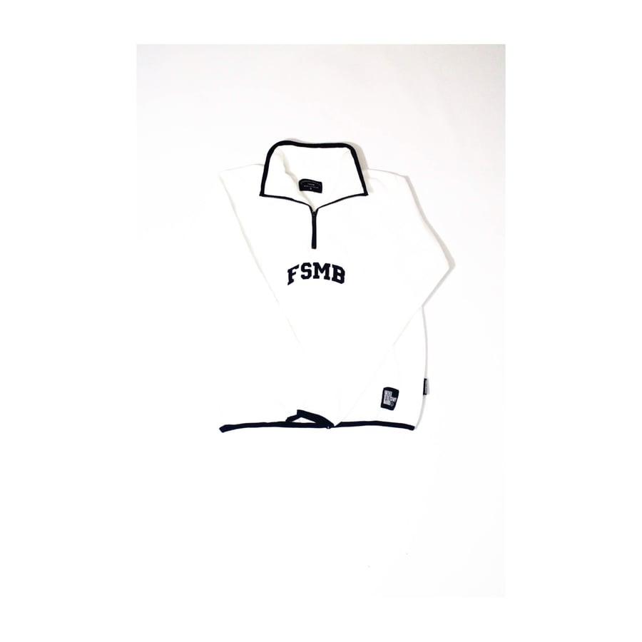 Image of FSMB® Pullover fleece (pure white)