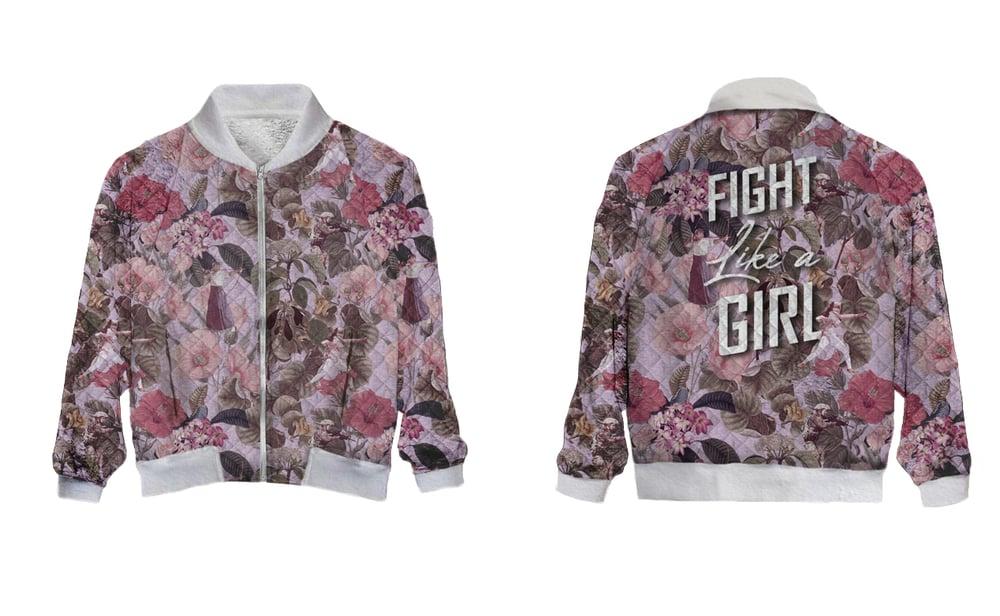 Image of Fight Like A Girl Blouson Bomber (Précommande)