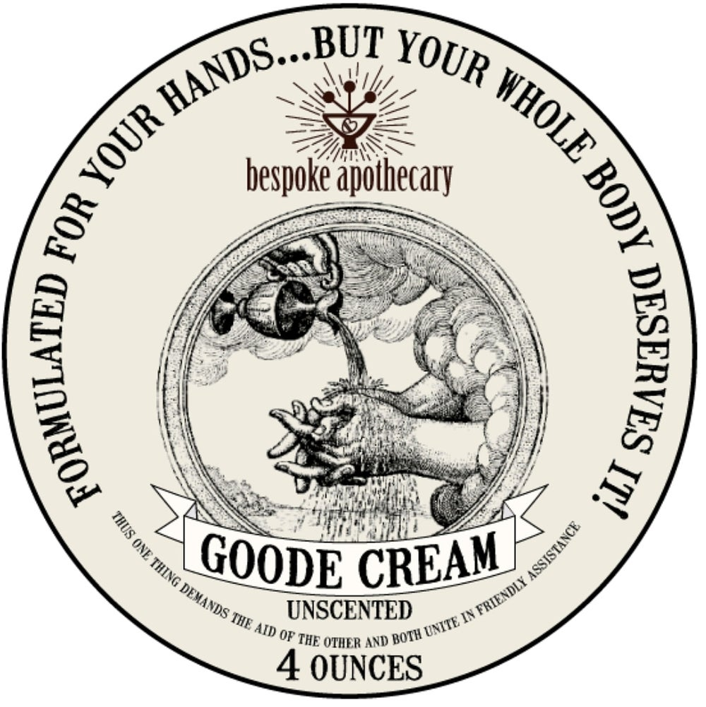 GOODE Cream - for deep hand and body moisturizing - *Unscented, *Thieves OR *Lavender!!