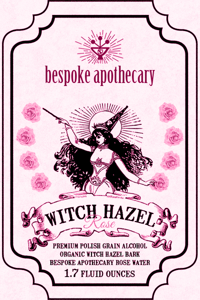 Image of 2 oz. Witch Hazel - Rose or Straight up!