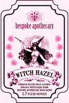 2 oz. Witch Hazel - Rose or Straight up!