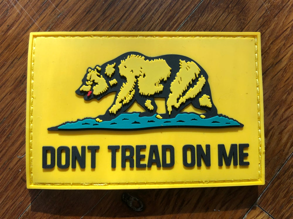 Image of California patch