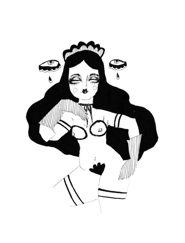 Image of Valentina print