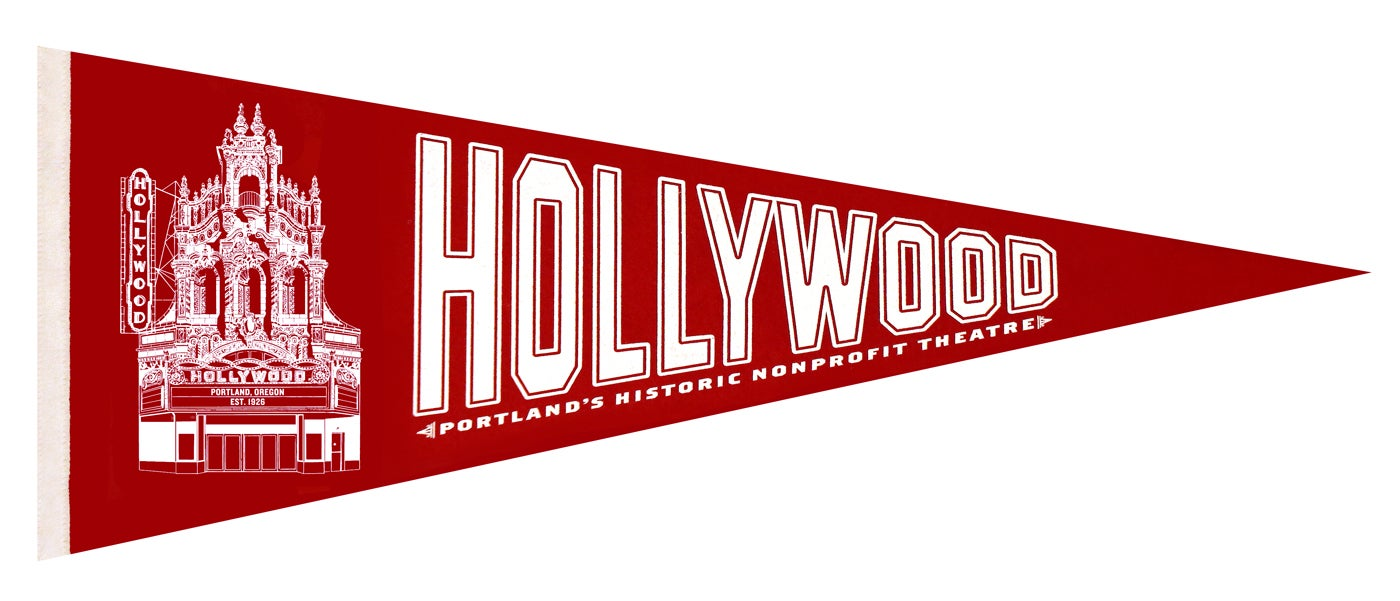 Image of Hollywood Theatre Pennant