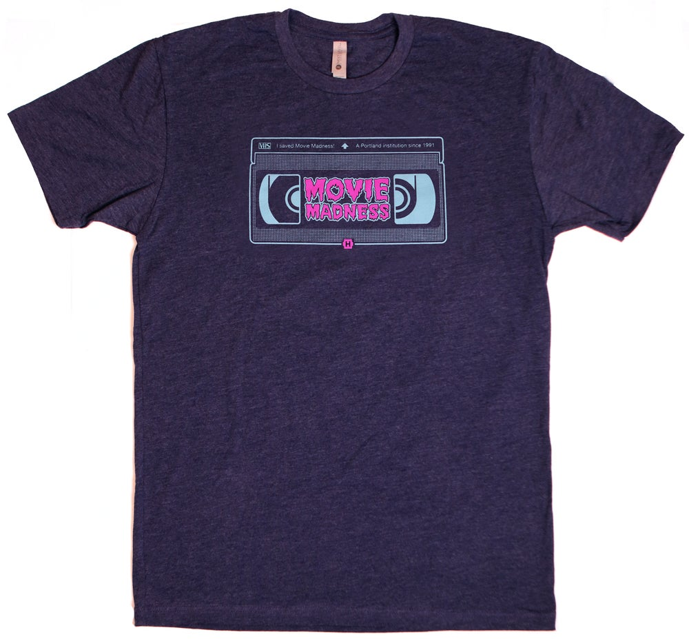 Image of Movie Madness VHS Tee