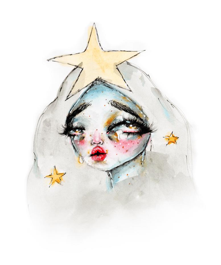 Image of Angel print