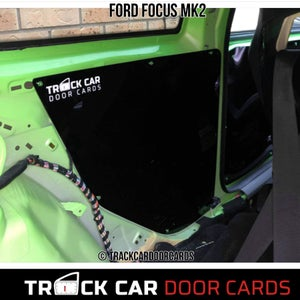 Image of Focus mk2 Rear Panels - Track Car Door Cards