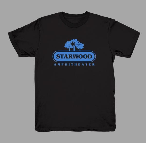Image of Original Starwood - (Faded Black w/BLUE print)