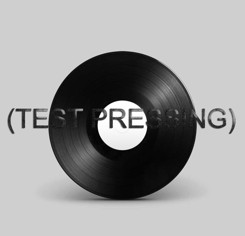 Image of 'her' EP Test Pressing