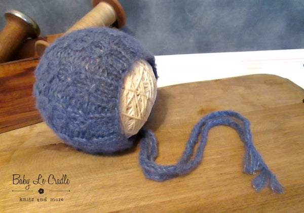 Image of Brushed Alpaca Cable NB Bonnet