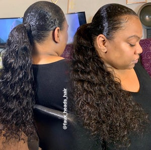 Image of DEEP WAVE INDIAN HAIR EXTENSIONS