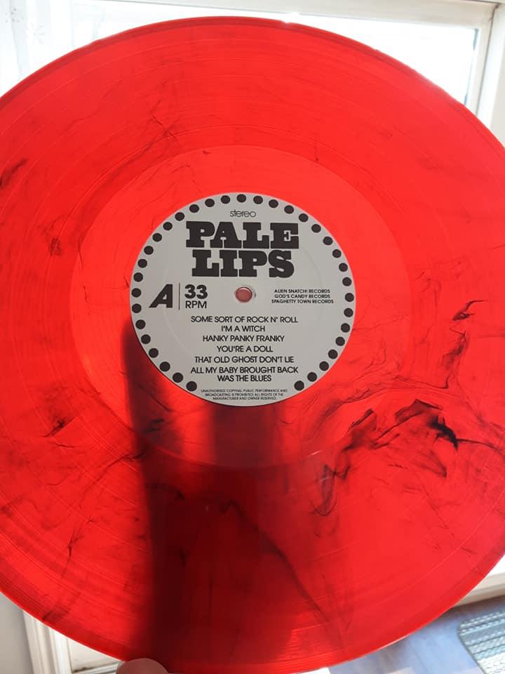 "Pale Lips ""After Dark"" LP Black or colored vinyl"