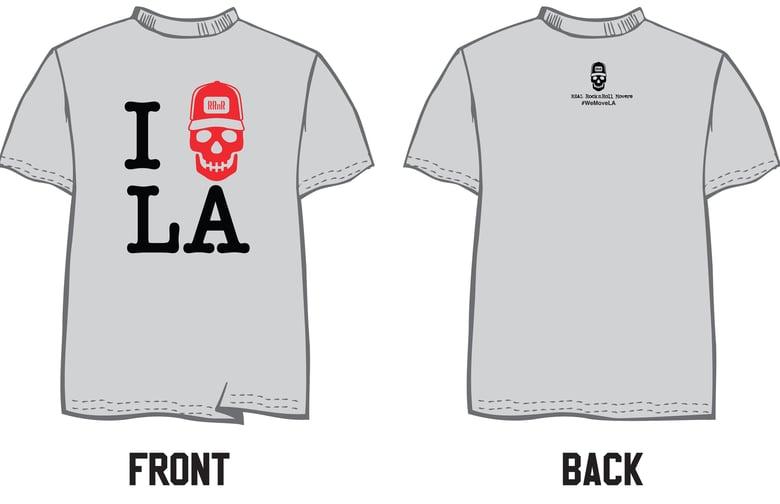 Image of I Skull LA T-shirt
