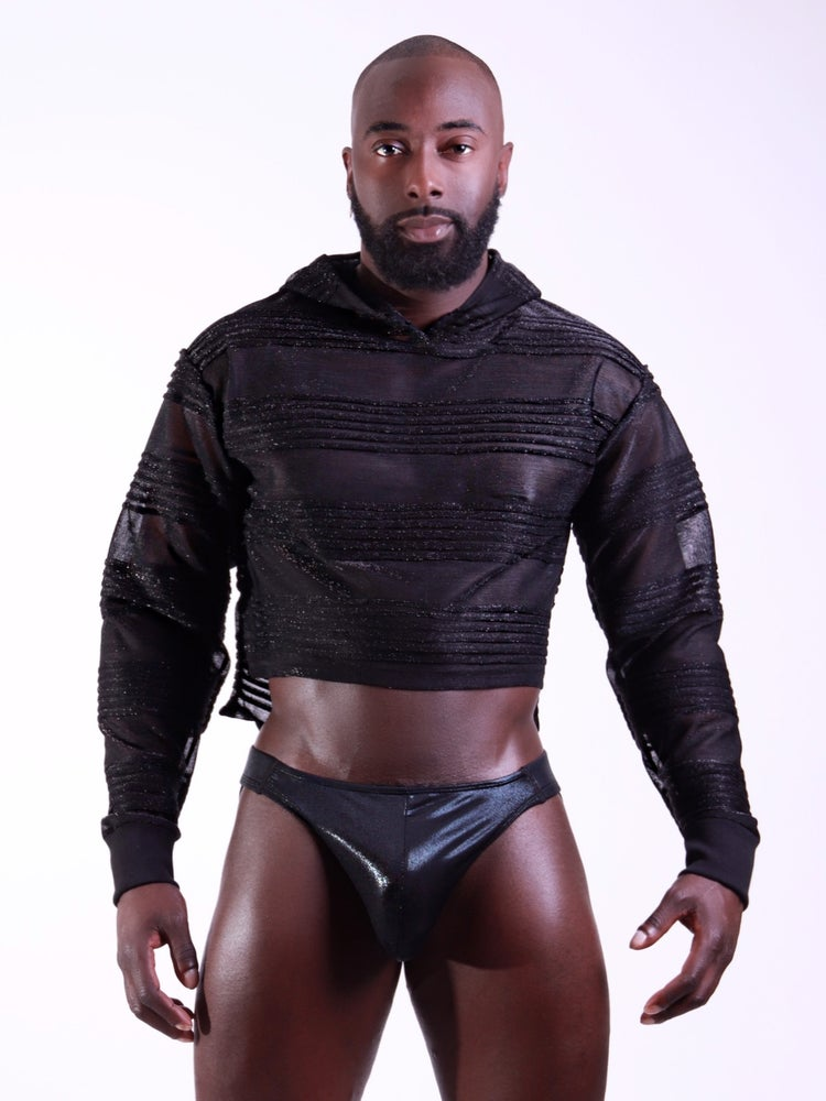 Image of THE TAG TEAM CROP SWEATER