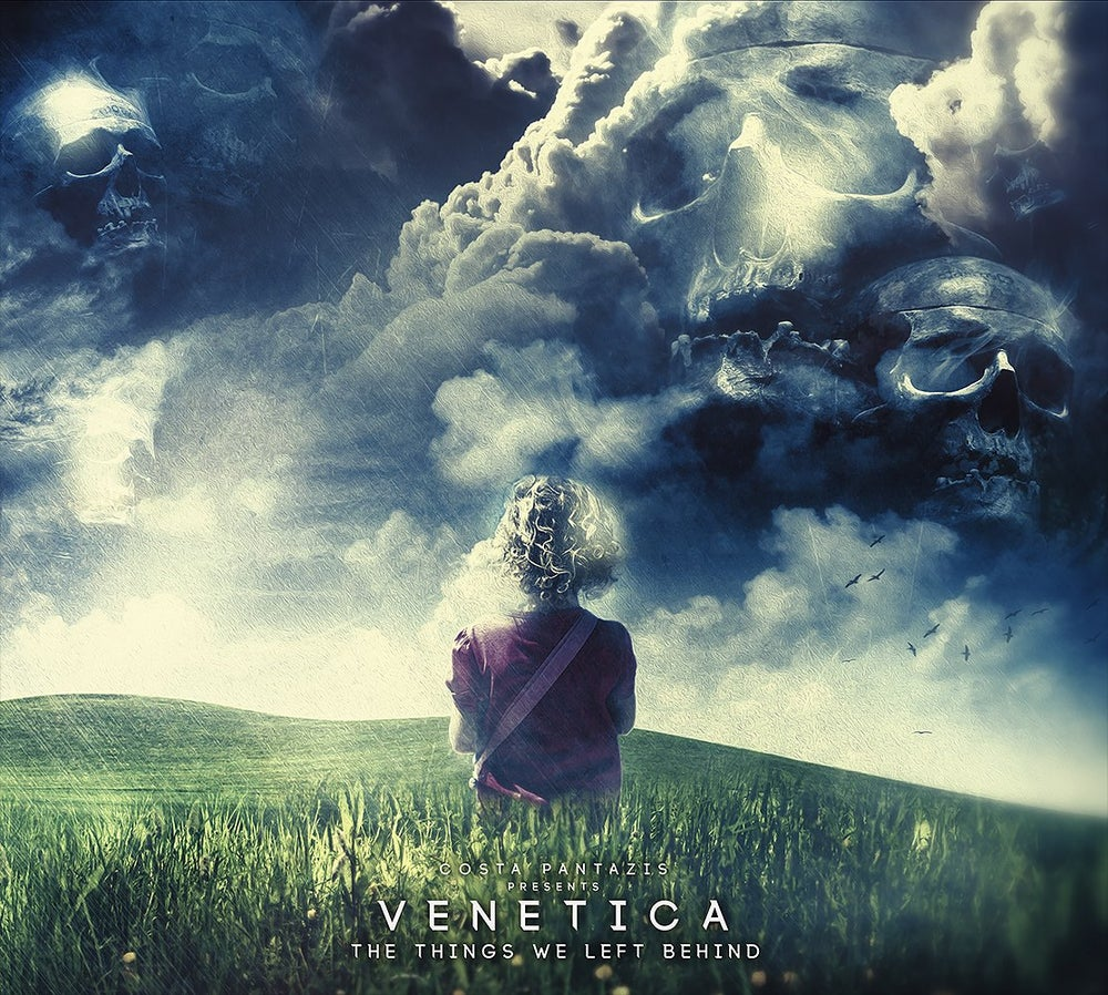 Image of Costa Pantazis Presents. Venetica - The Things We Left Behind (The Album) Limited Edition USB+CD