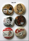 Coffee Themed 2 Flair buttons