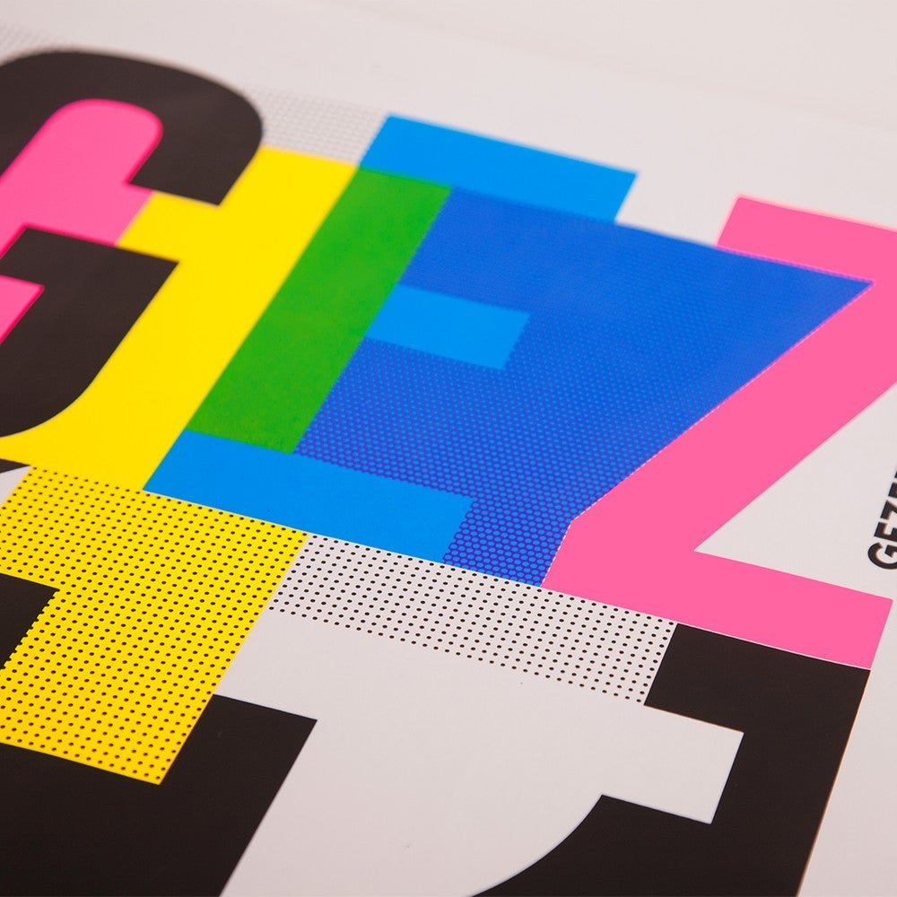 Image of GZVR  • 4 color screenprint