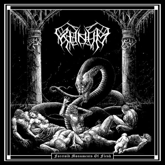 Image of KHNVM • Foretold Monuments of Flesh (Ltd. Hand-Numbered CD Digipak)