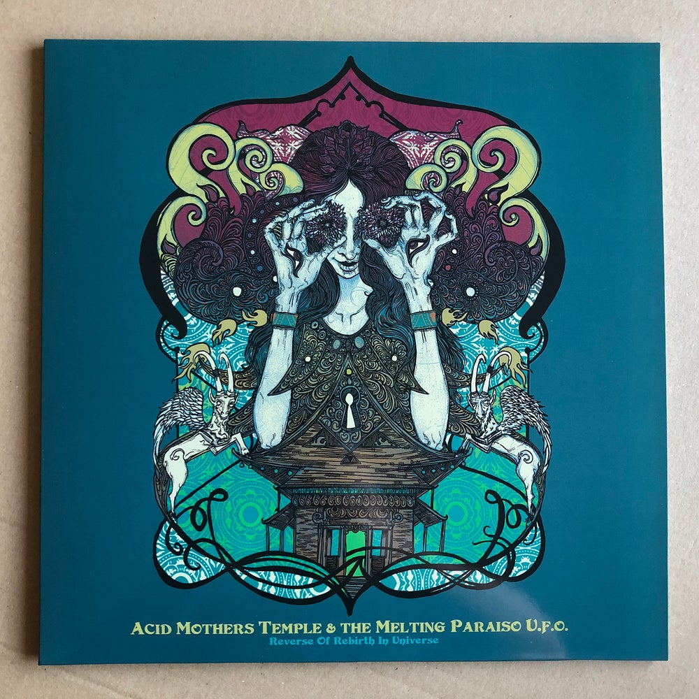 ACID MOTHERS TEMPLE 'Reverse Of Rebirth In Universe' Sun Yellow Vinyl LP