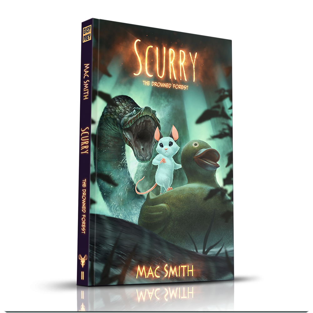 Image of Scurry Book 2: The Drowned Forest (Hardcover)