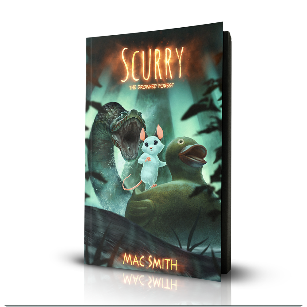 Image of Scurry Book 2: The Drowned Forest (Paperback)