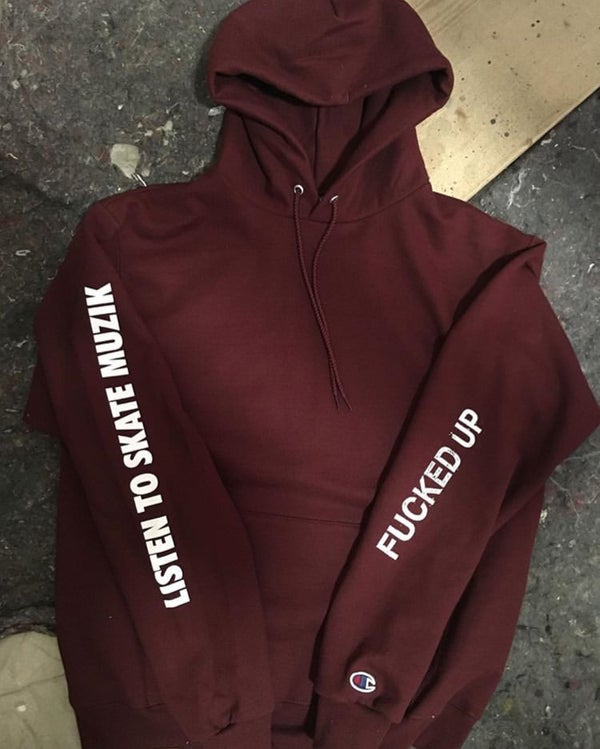 Image of Skate Muzik Fucked Up hoodie