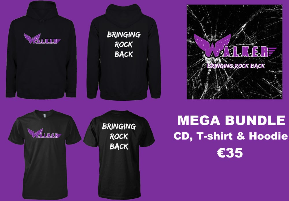 Image of MEGA Bundle - CD, T-Shirt & Hoodie