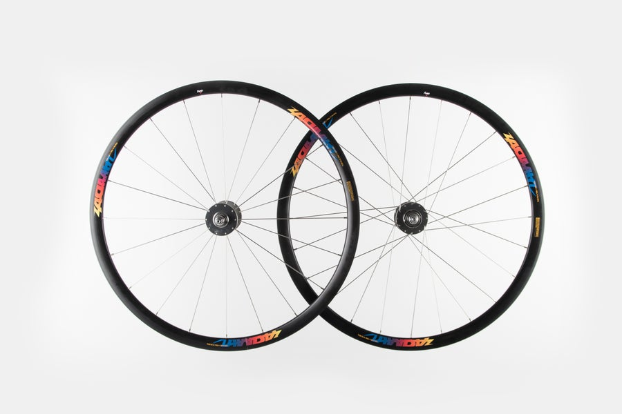 Image of ARMA BLADE 30 Track Alloy Clincher wheelset(F+R)