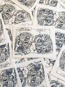 Image of 'Aint like it used to be' Stickers