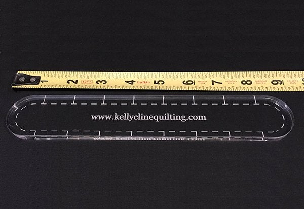 "Image of 9"" Slim Ruler--single"
