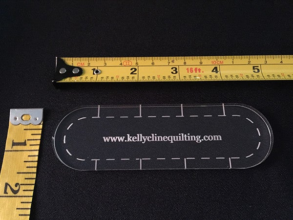 Image of 1/2 Slim Ruler--single