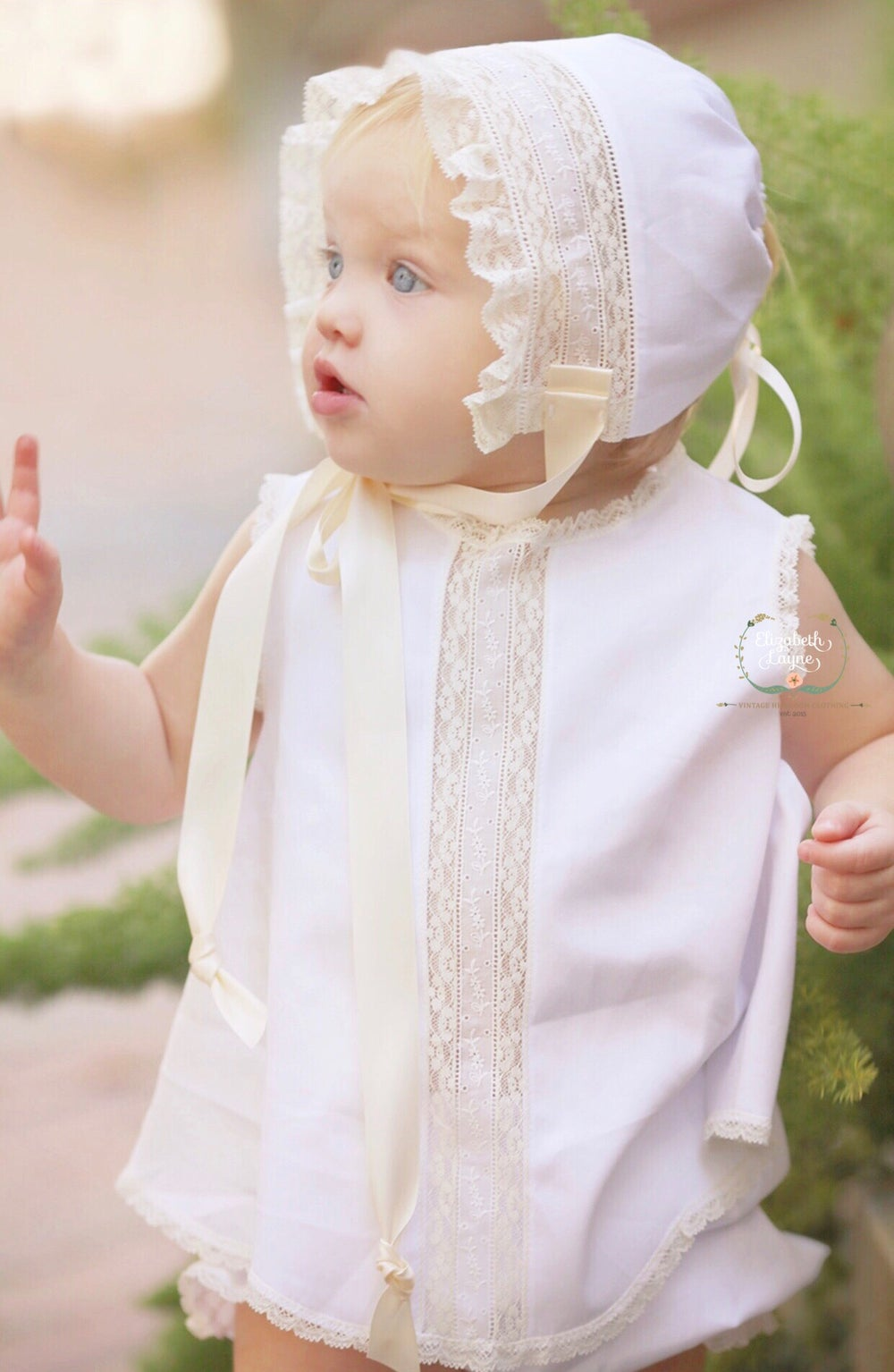 Image of Lyla Heirloom Dress & Bloomer Set