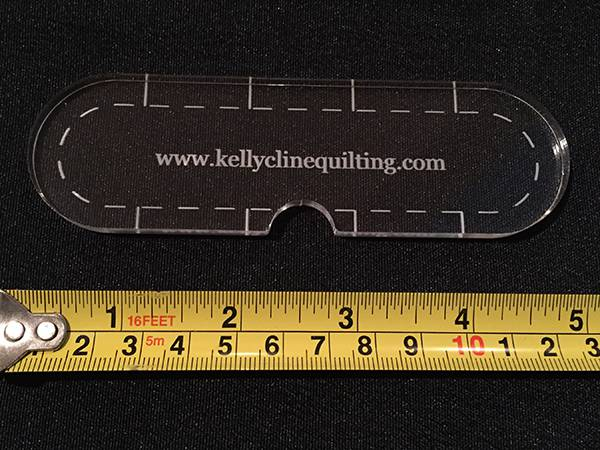 Image of 1/2 Slim Notch Ruler--single