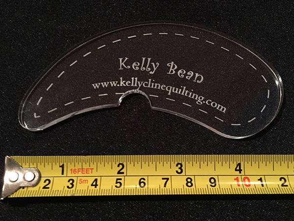 Image of Kelly Bean Notch Ruler--single
