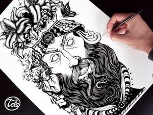 Image of Testa di Moro Tattoo Tee