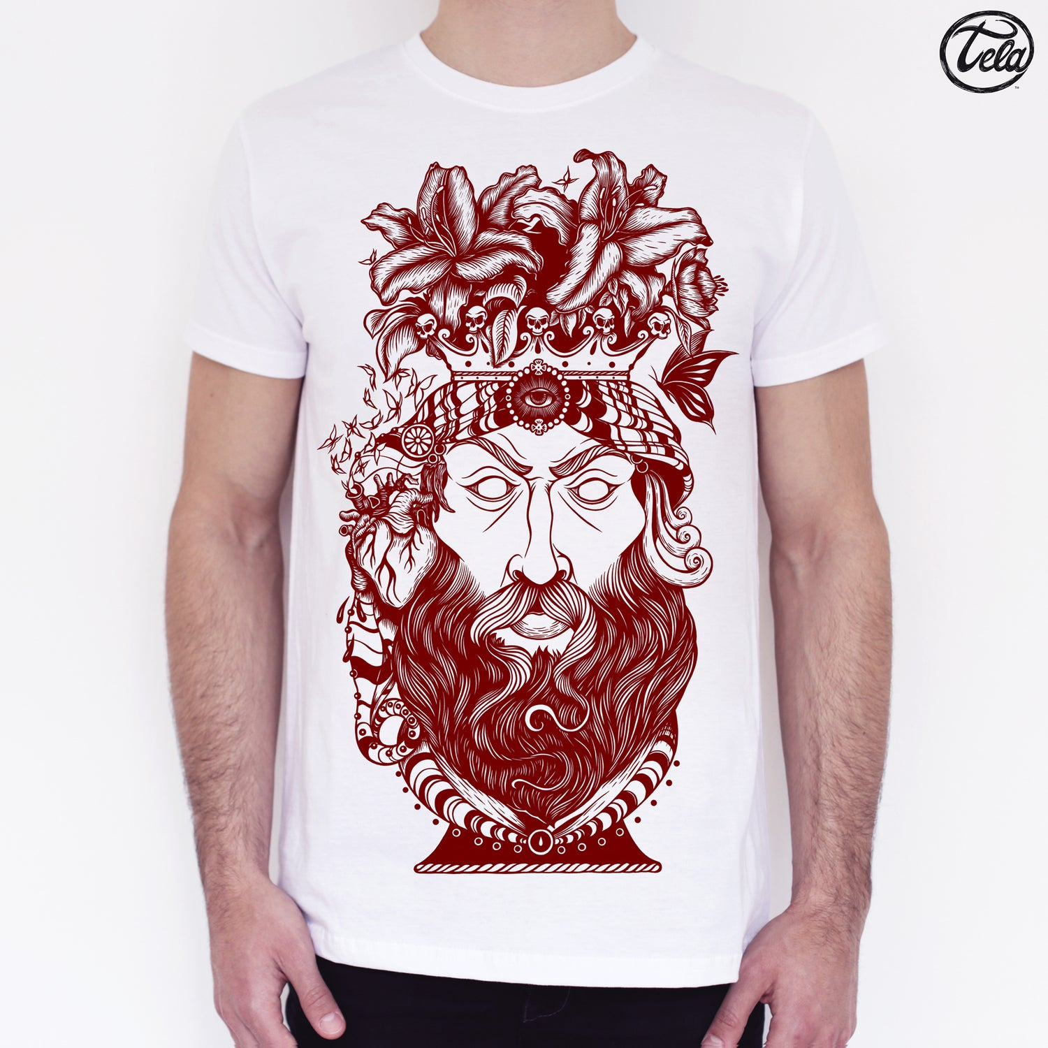 Image of Testa di Moro Blood Tee